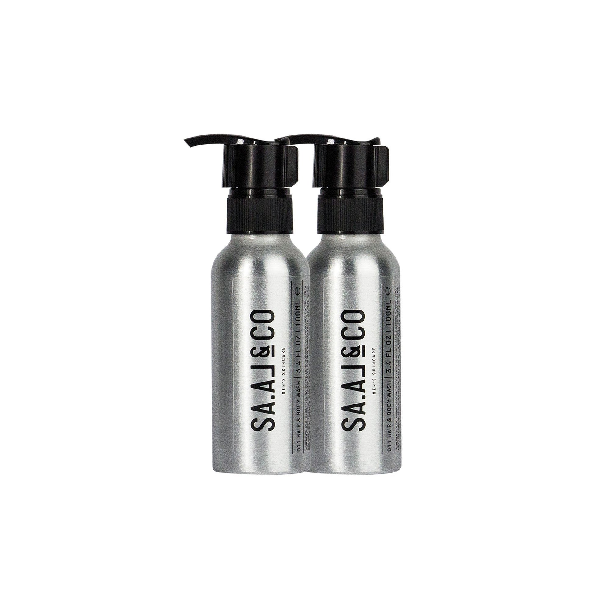 SAAL & Co Hair & Body Wash Travel Size x2