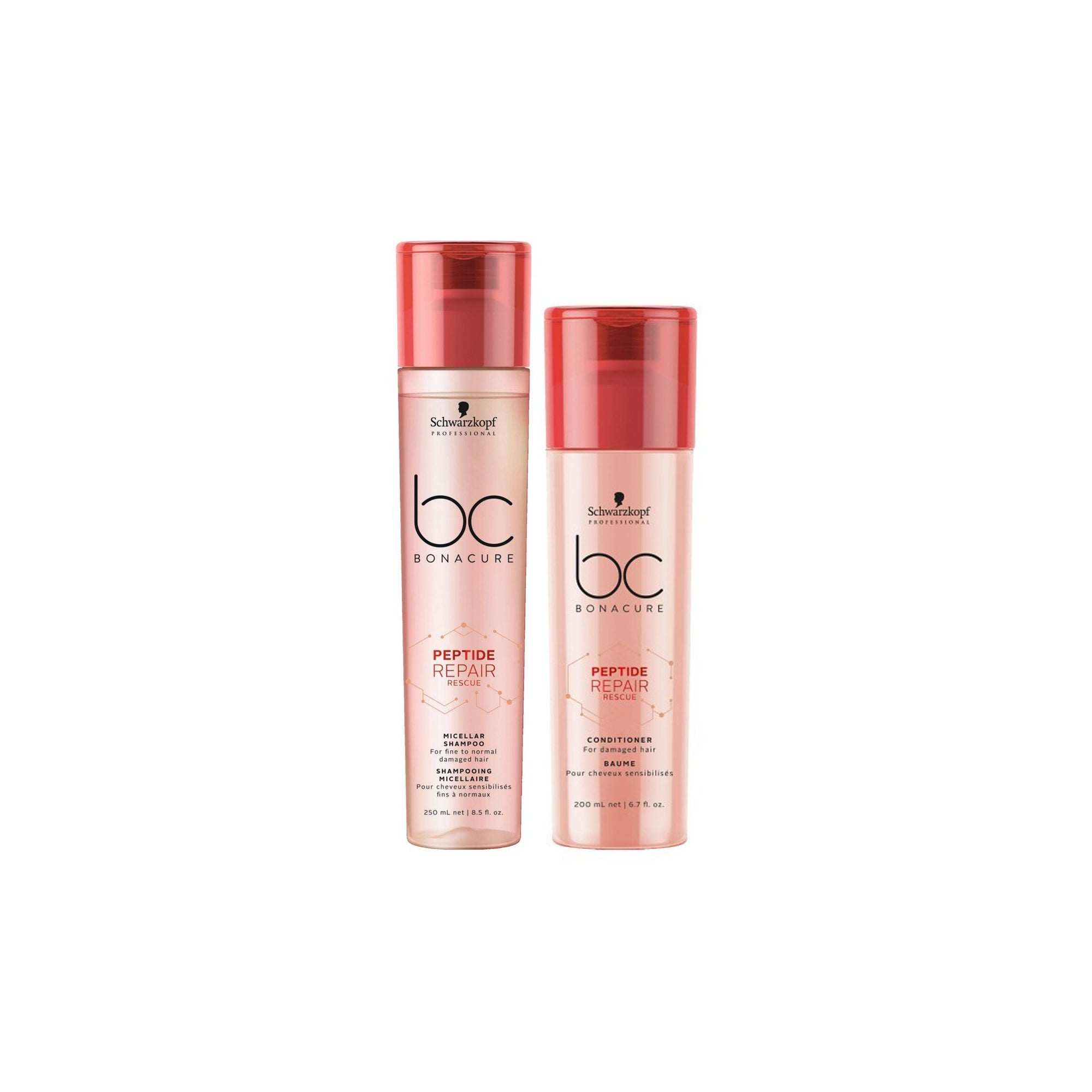 Schwarzkopf BC Peptide Repair Rescue Bundle