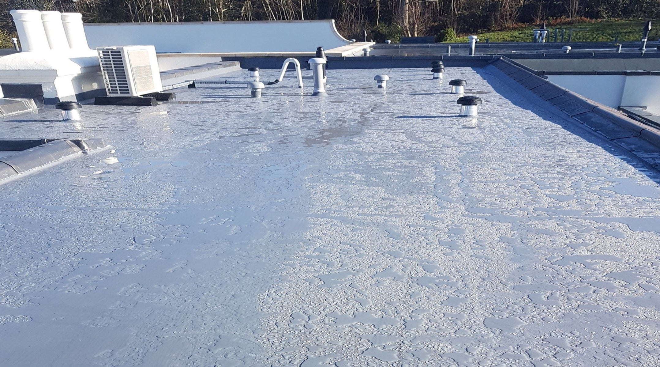 Liquid SilaCote flat roof membranes and structural waterproof coating specialists. Hand or spray applied to new and refurbished flat roofing for long lasting asset protection. Fully BBA and ETAG compliant