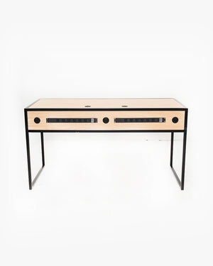 Essential Studio Desk (Oak / Black)