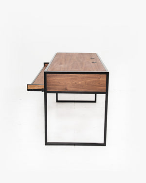 Essential Studio Desk (Walnut / Black)
