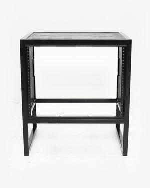 8U Studio Rack (Black / Black)