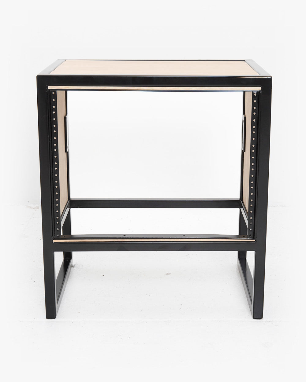 8U Studio Rack (Oak / Black)