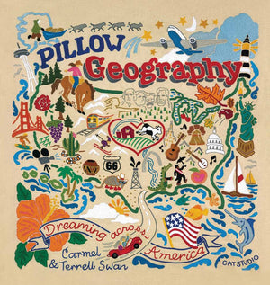 Pillow Geography Book Cover