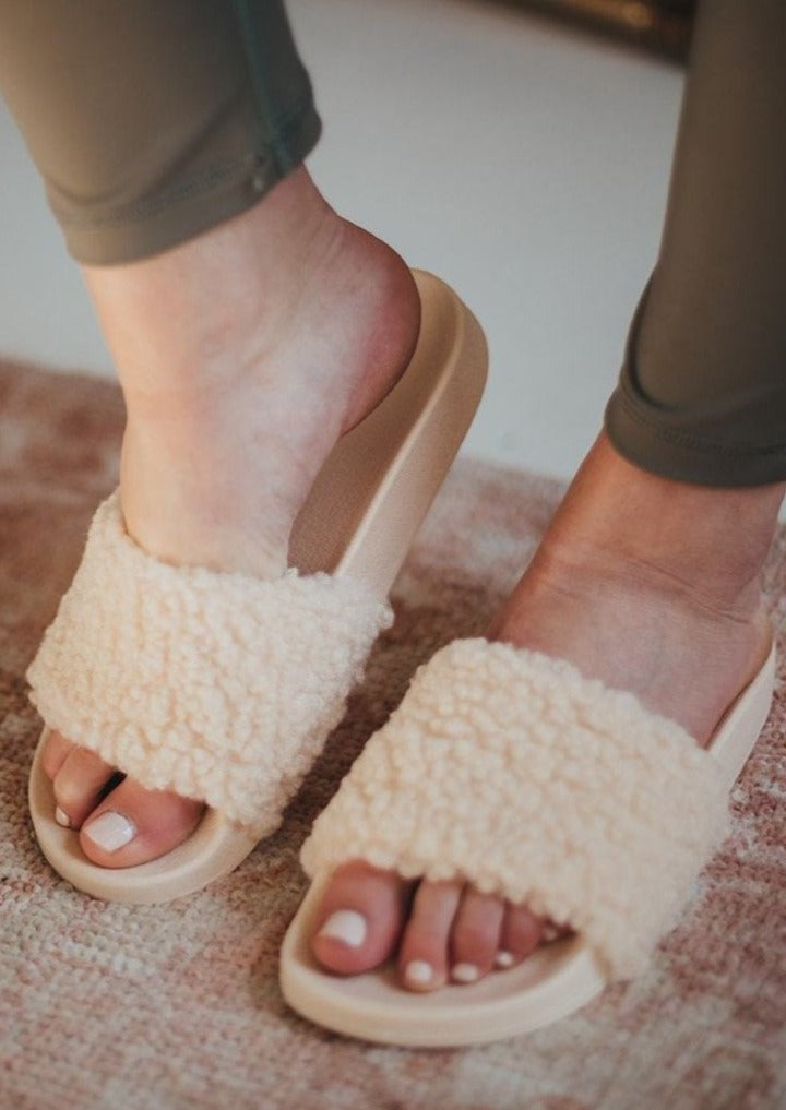 Sherpa Slipper Sandals