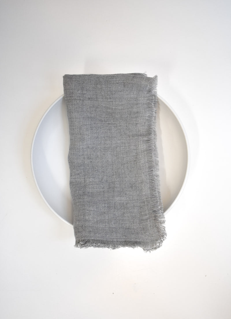 Stone Washed Linen Napkin