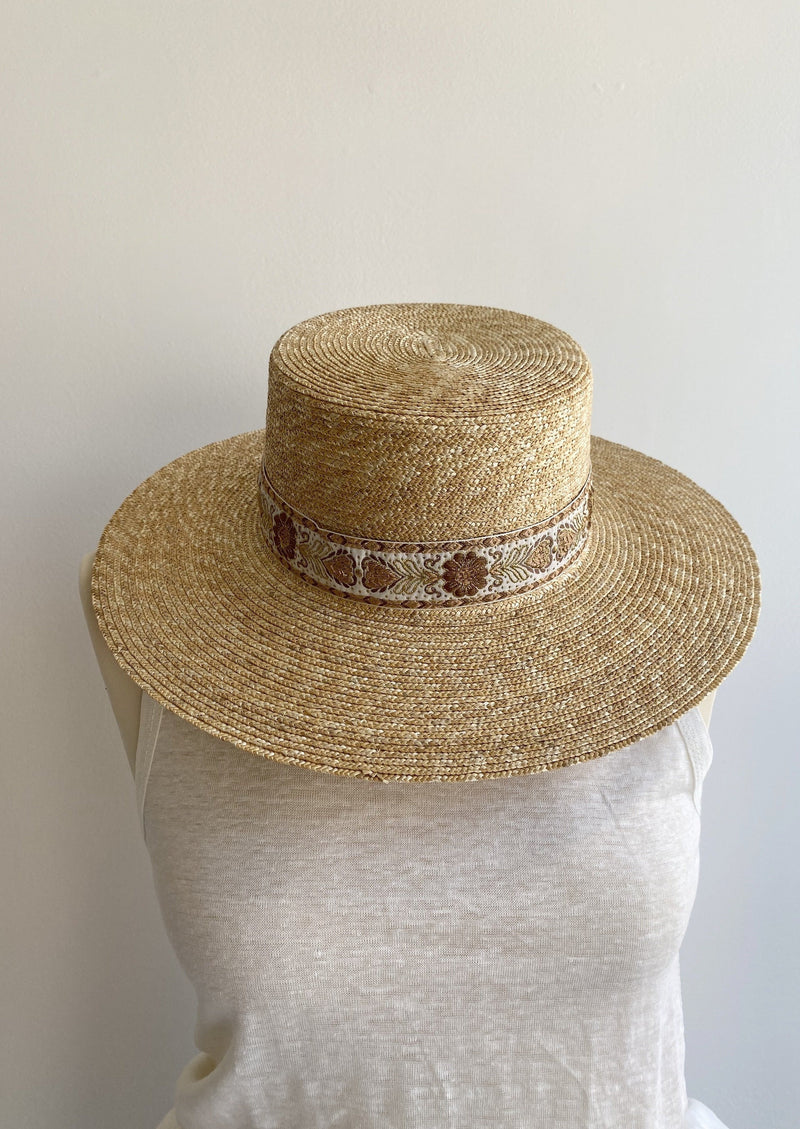 Spencer Boater Hat