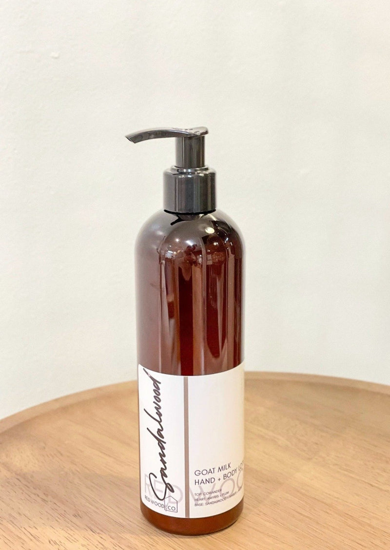 Sandalwood Hand + Body Lotion