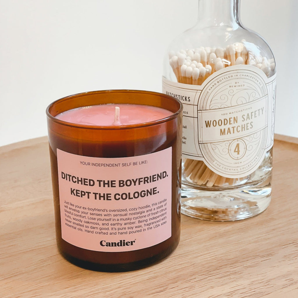 Ditched The Boyfriend Candle