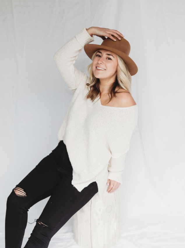 Morgan V Neck Sweater