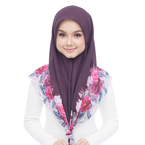 Image of Diva Scarf - Ruby Plum
