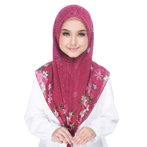 Image of Diva Scarf - Bawal Red Velvet