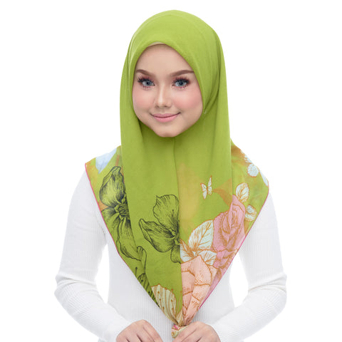Diva Scarf - Green Lime