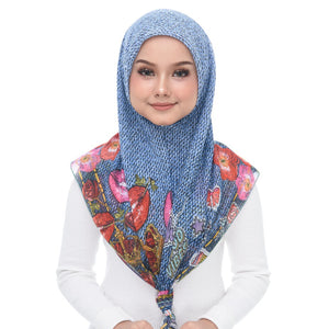 Diva Scarf - Denim 2020