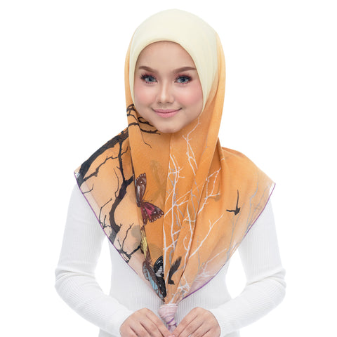 Image of Diva Scarf - Peach coral