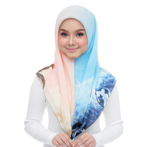 Image of Diva Scarf - Bawal Ice Blue