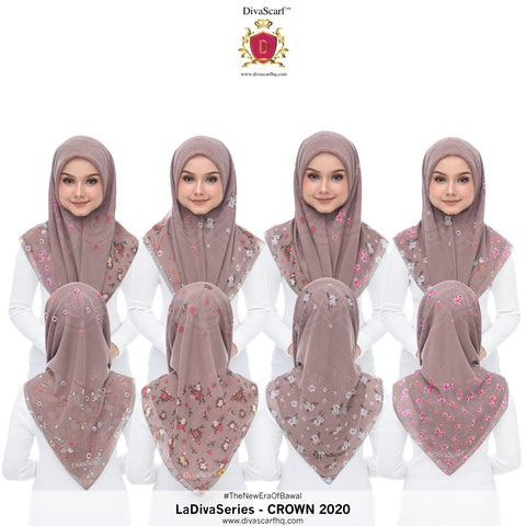 Diva Scarf - Crown
