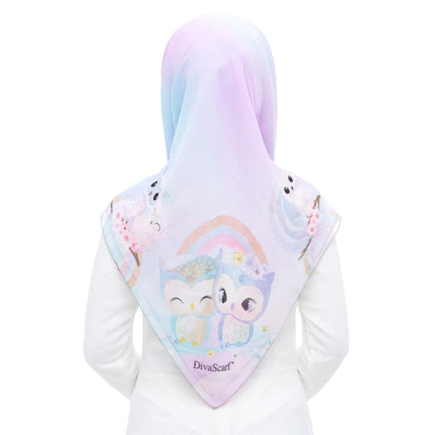 Diva Scarf - Bawal Unicorn & Friends