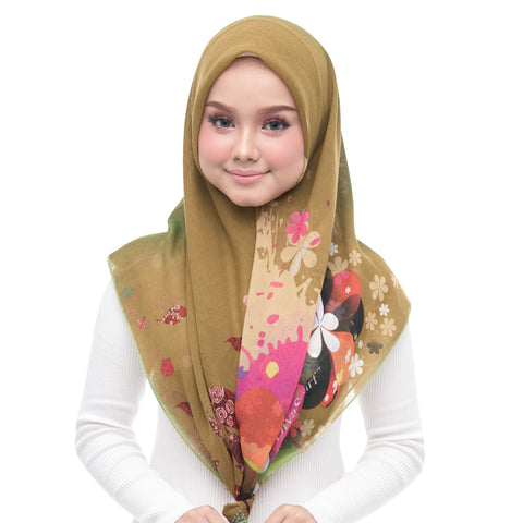 Image of Diva Scarf - Olive Green