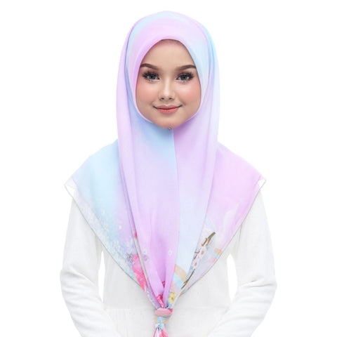 Image of Diva Scarf - Bawal Unicorn & Friends