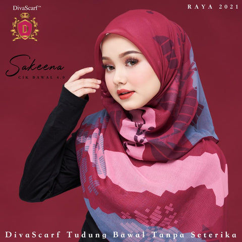 Image of April 2021 - Diva Scarf - Sakeena