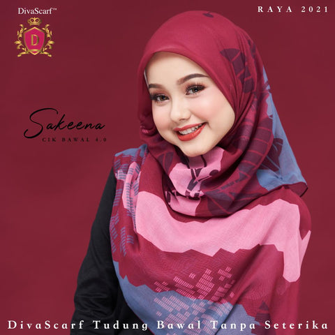 April 2021 - Diva Scarf - Sakeena