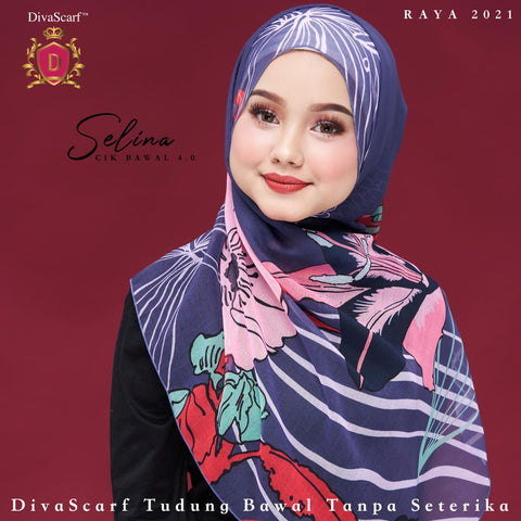 April 2021 - Diva Scarf - Selina