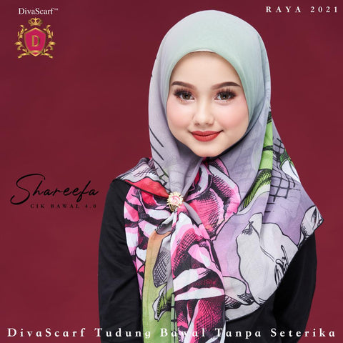 Image of April 2021 - Diva Scarf - Shareefa