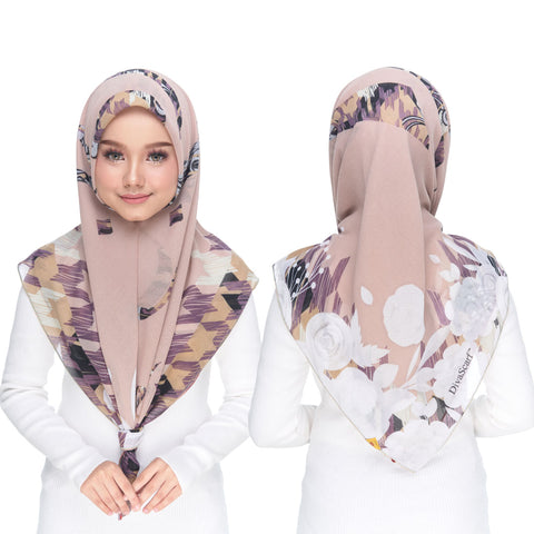 Image of Diva Scarf - Bawal Brown