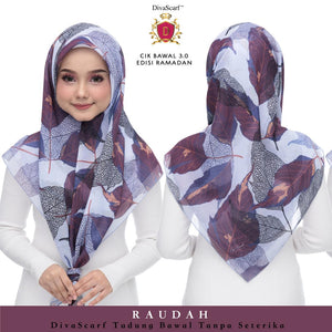 March 2021 - Diva Scarf - Raudah