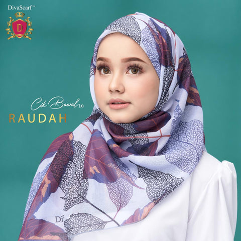 Image of March 2021 - Diva Scarf - Raudah