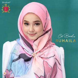 March 2021 - Diva Scarf - Ruhaila