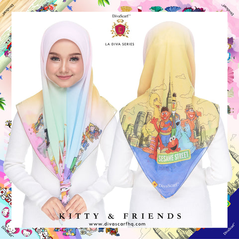 Diva Scarf - Kitty & Friends