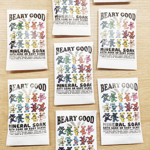 "Bath Soak - ""Beary Good"" Grateful Dead Art"