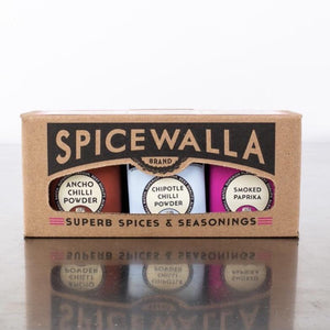 3 Pack Chilli Seasoning Gift Set - Spicewalla -Freehand Market