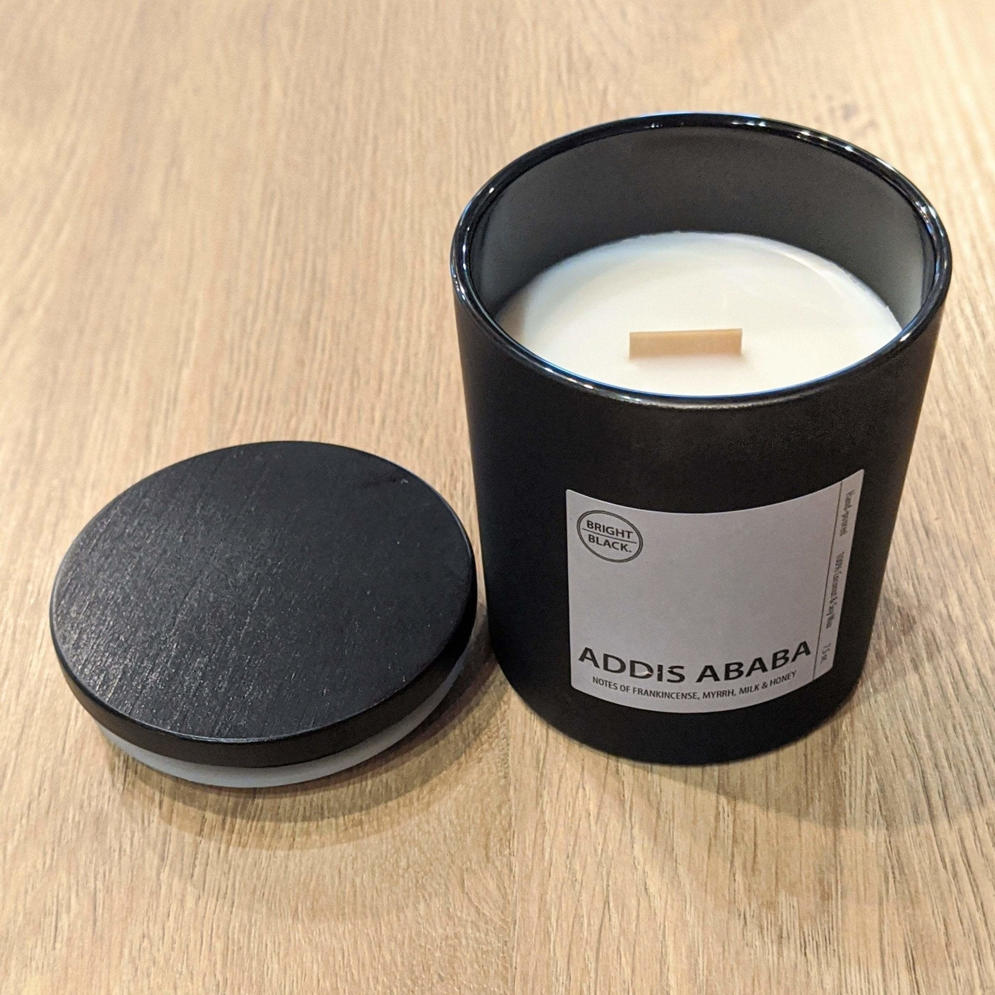 Addis Ababa Candle - Bright Black Candles -Freehand Market
