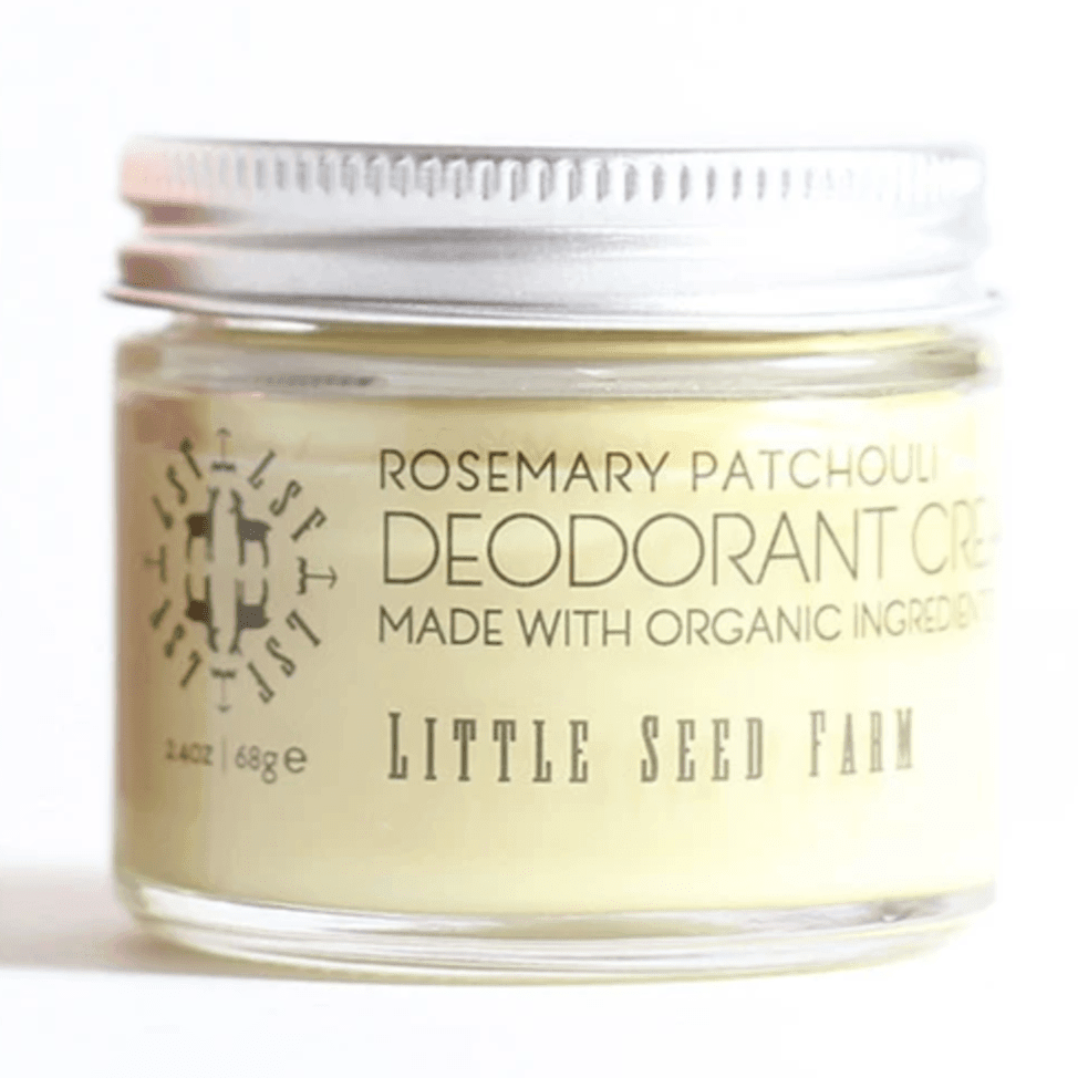 All Natural Deodorant Cream - Rosemary Patchouli - Little Seed Farm -Freehand Market