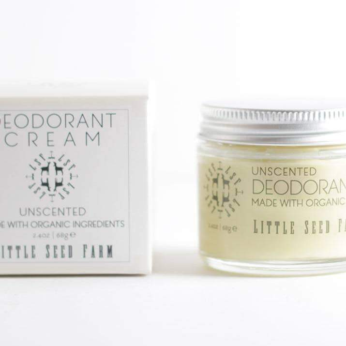 All Natural Deodorant Cream - Unscented - Little Seed Farm -Freehand Market