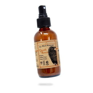 All Natural Room Spray - Quoth the Raven Scent - Sea Witch Botanicals -Freehand Market