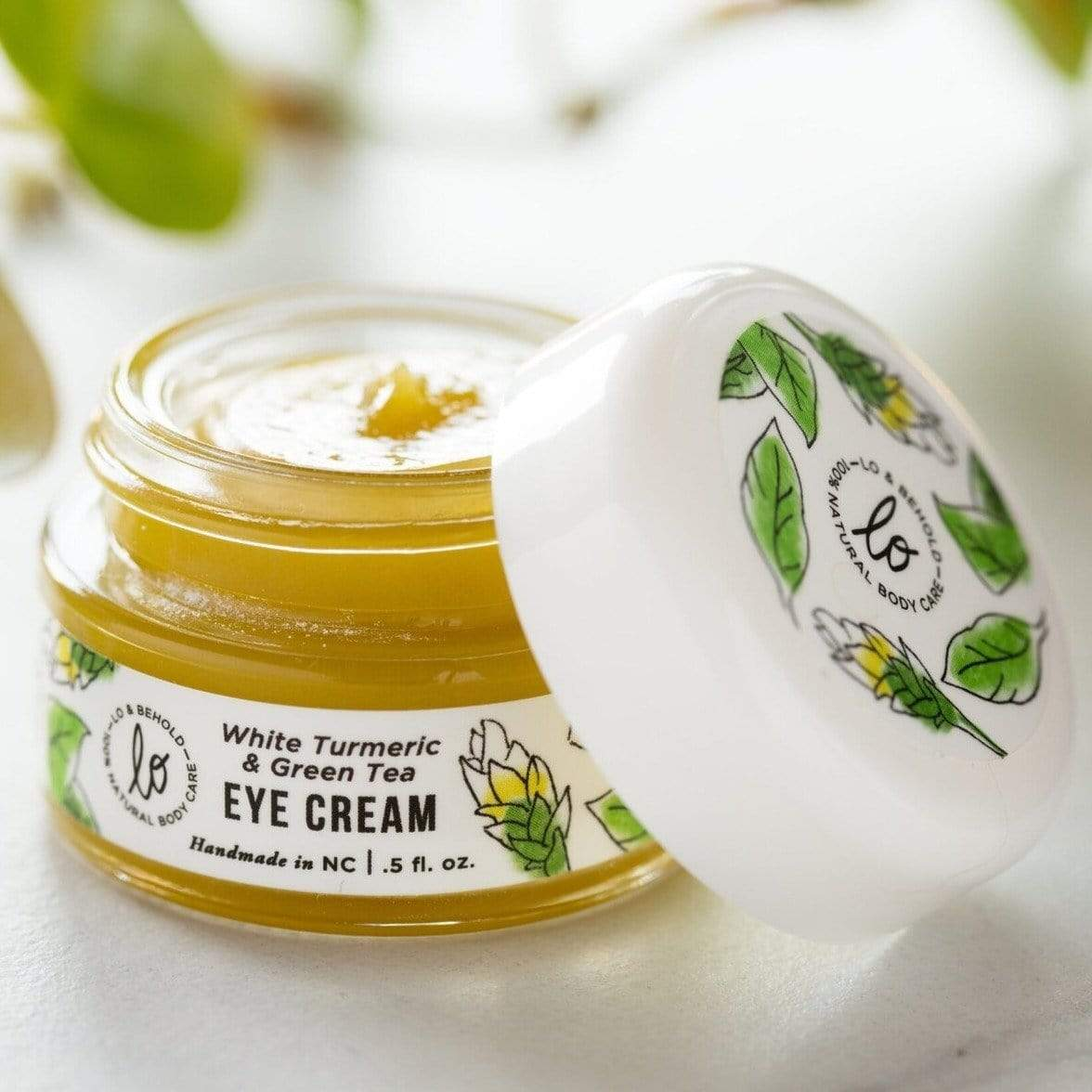 All Natural Soothing Eye Cream - Lo & Behold Naturals -Freehand Market