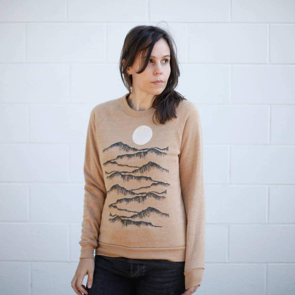 Badlands Unisex Eco Fleece Sweatshirt - Blackbird Supply Co -Freehand Market