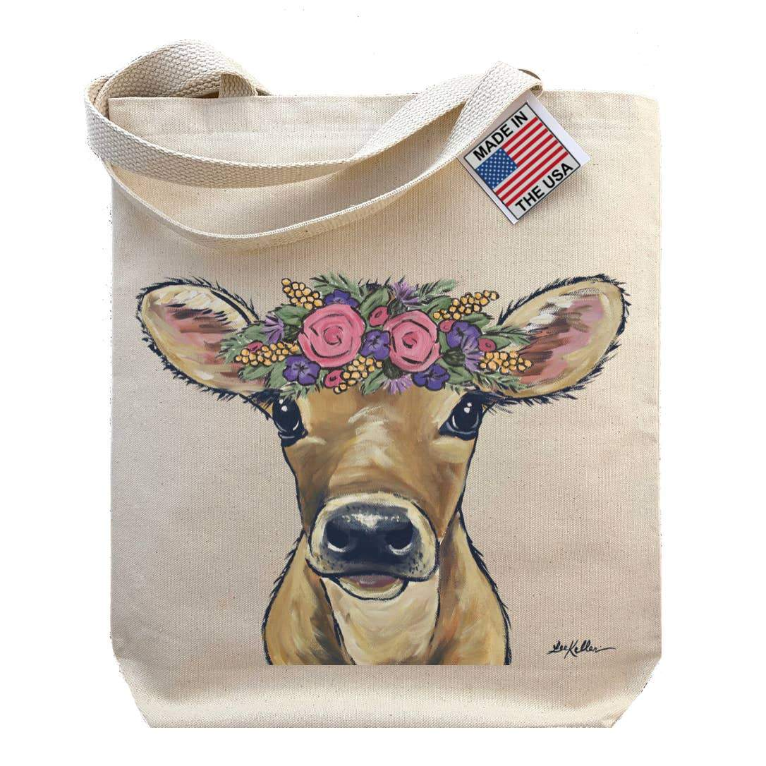 Baby Cow Tote Bag