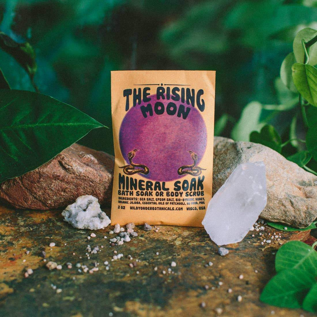 Bath Soak - The Rising Moon - Wild Yonder Botanicals -Freehand Market
