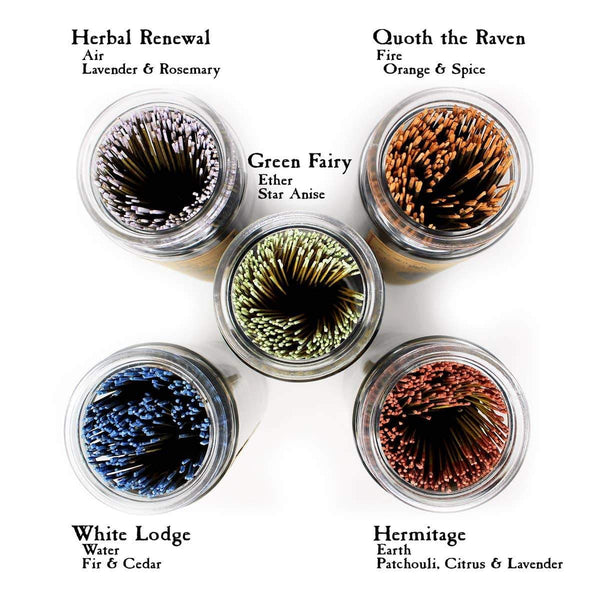 Botanical Incense Sampler (10 Sticks) - Sea Witch Botanicals -Freehand Market