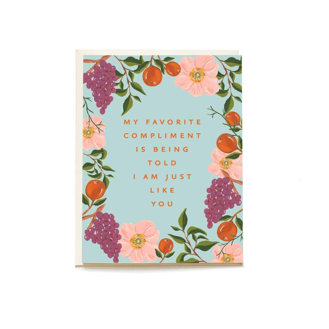 Compliment Mother's Day Card