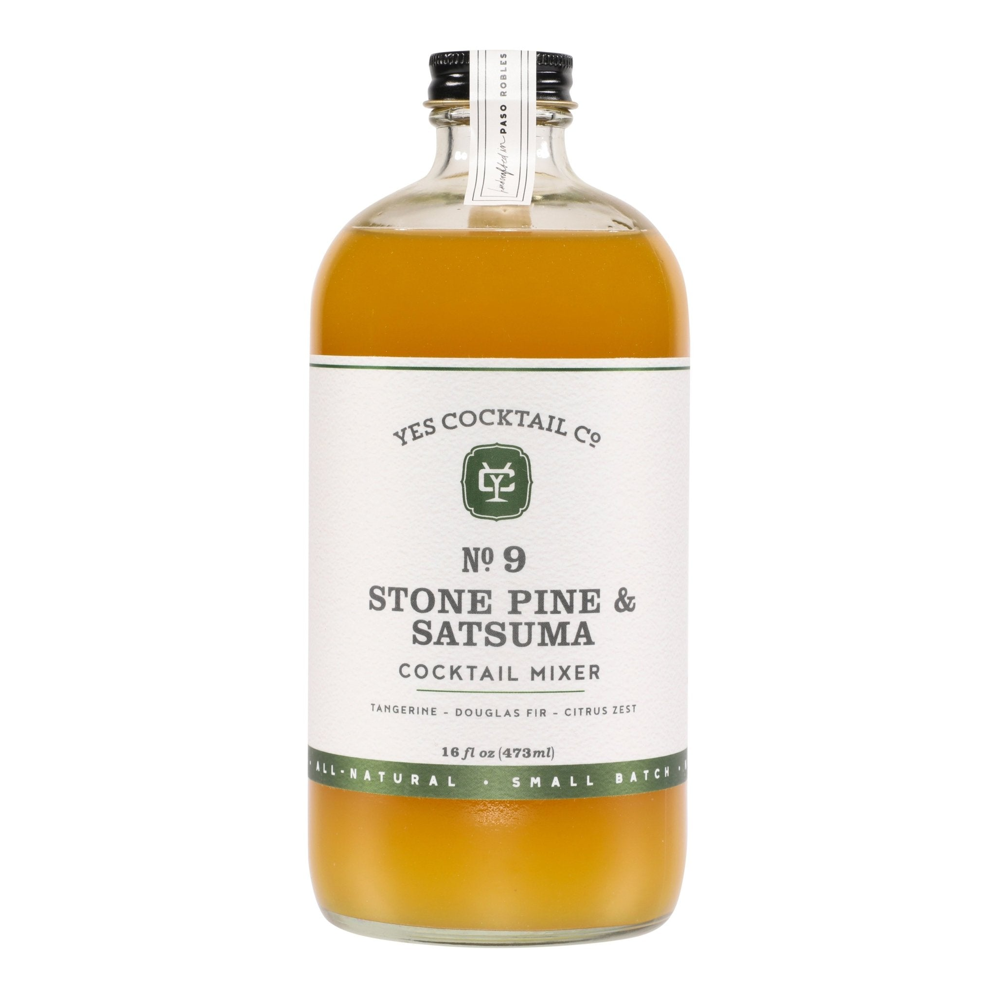 Craft Cocktail Mixer - Stone Pine and Satsuma