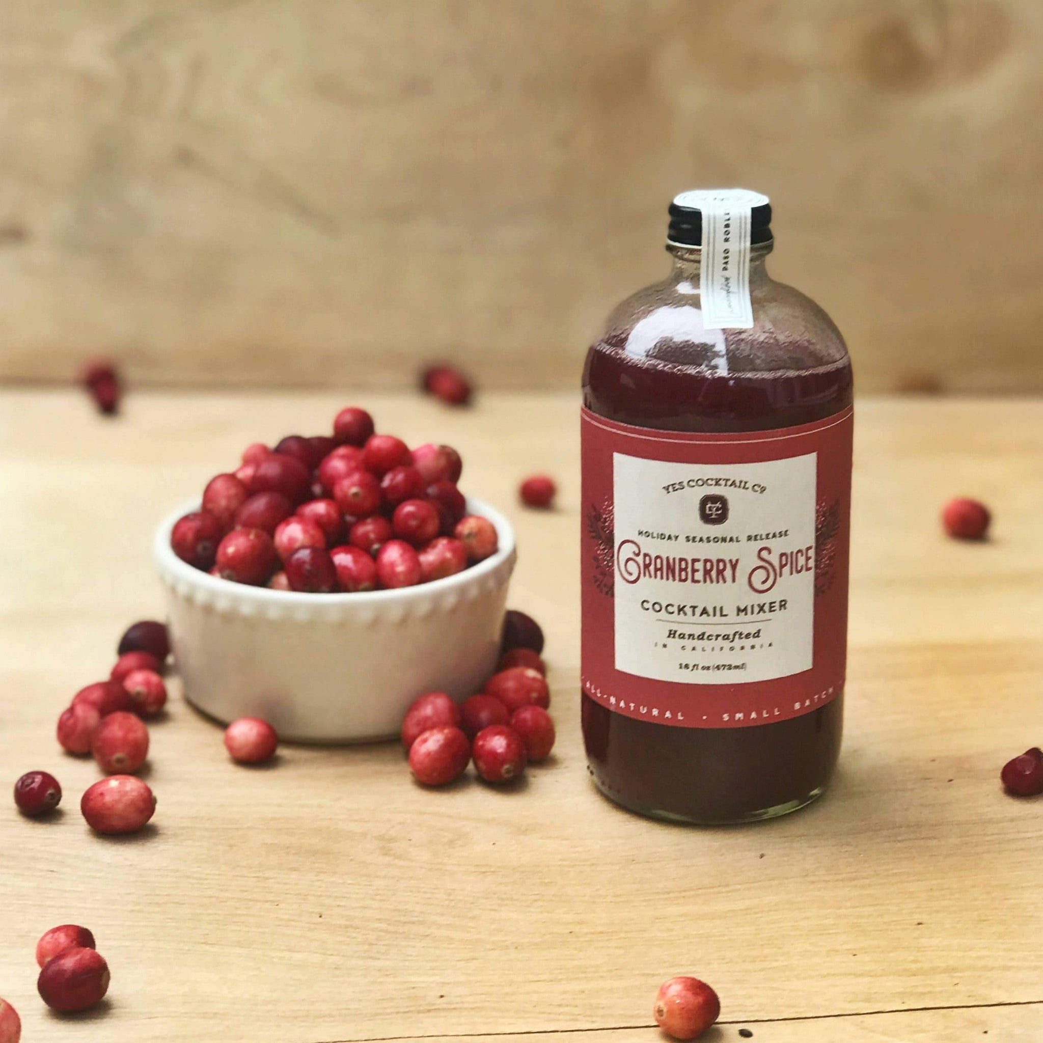Limited Edition Cranberry Spice Cocktail Mixer