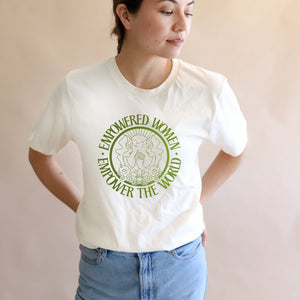 Empowered Women Unisex Tee - Polished Prints -Freehand Market
