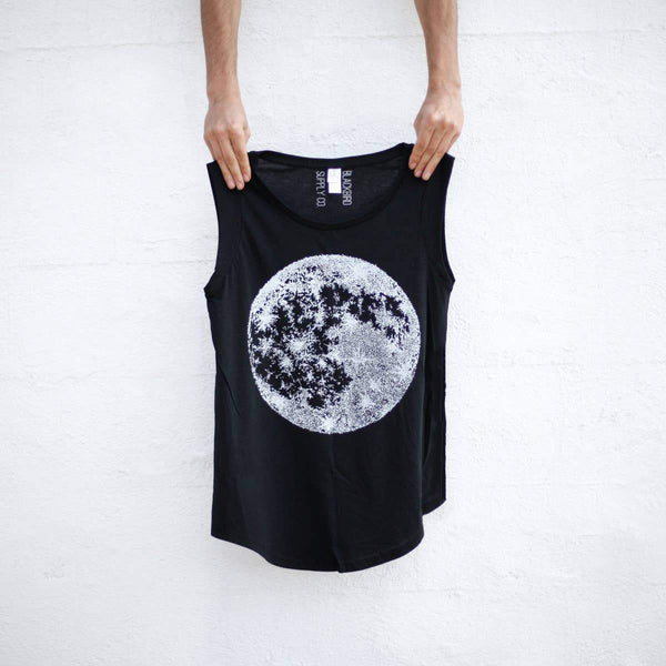 Full Moon Cap Sleeve Tank