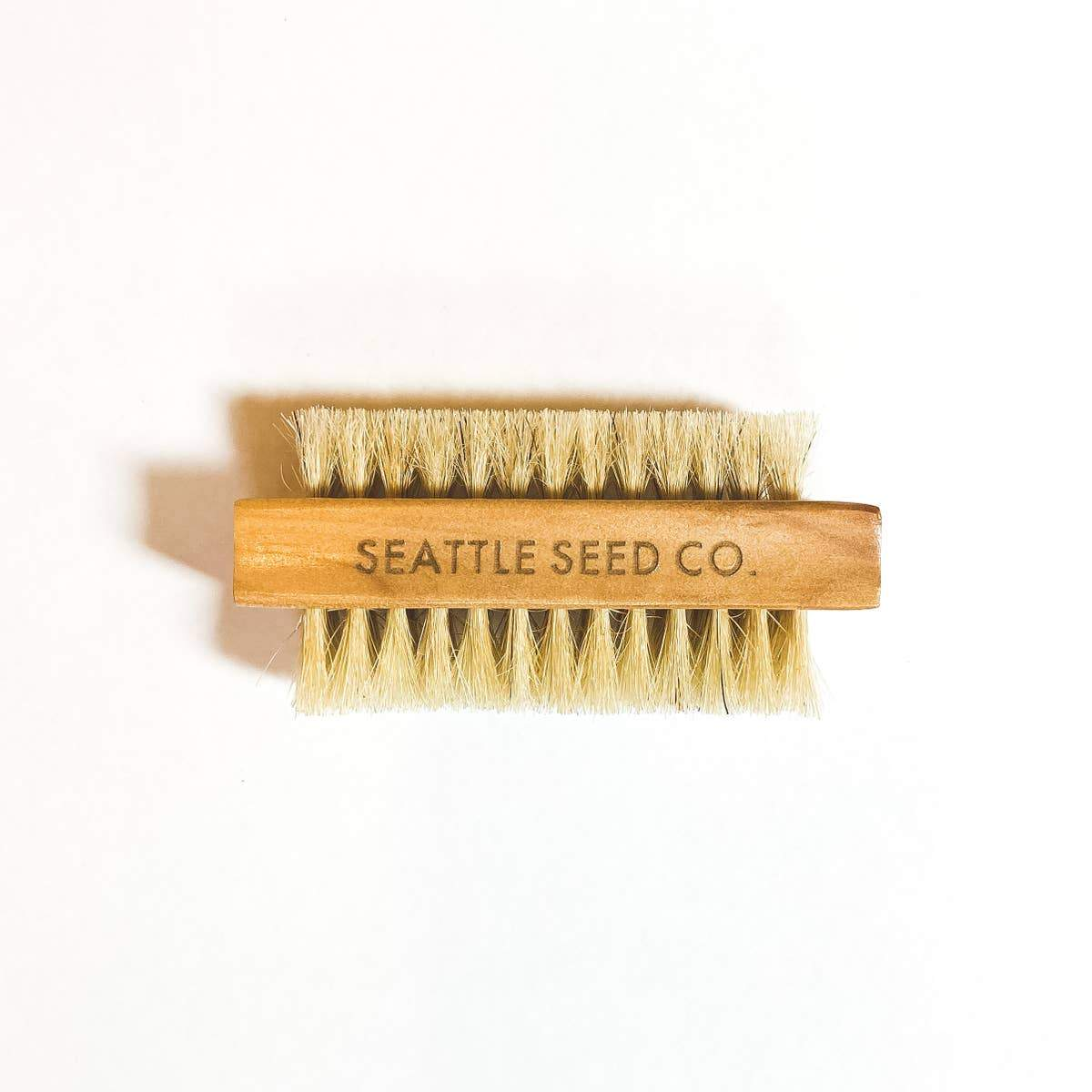Gardeners Nail Brush - Seattle Seed Co -Freehand Market